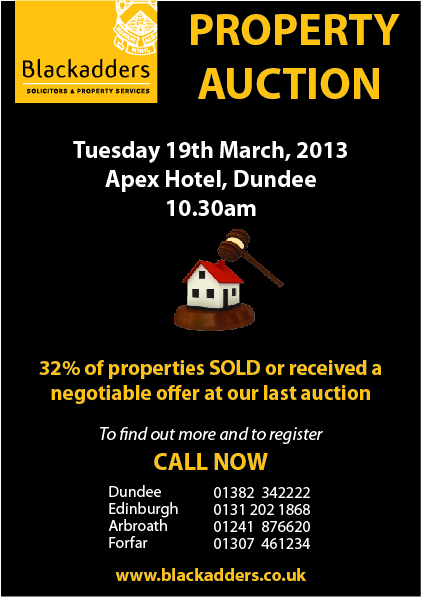 2013 Property Auction Client Flyer For Database
