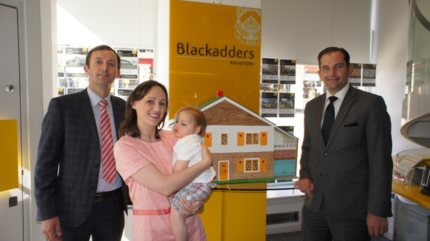 From left to right: Steven Dewar, Jenny McMillan, Blake McMillan and Lindsay Darroch.